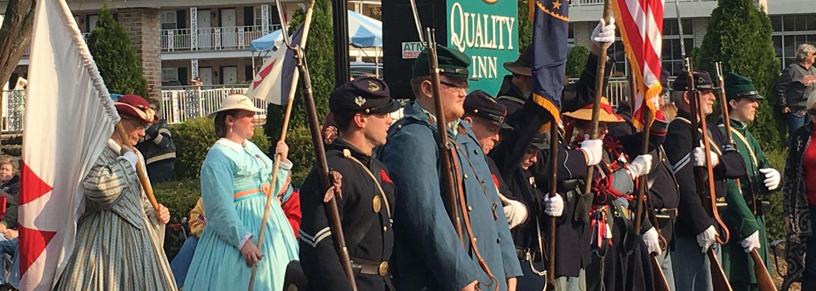 Holiday Special in Quality Inn Gettysburg Battlefield