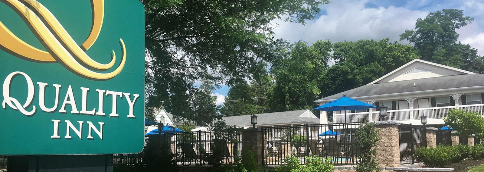 location of Quality Inn Gettysburg Battlefield