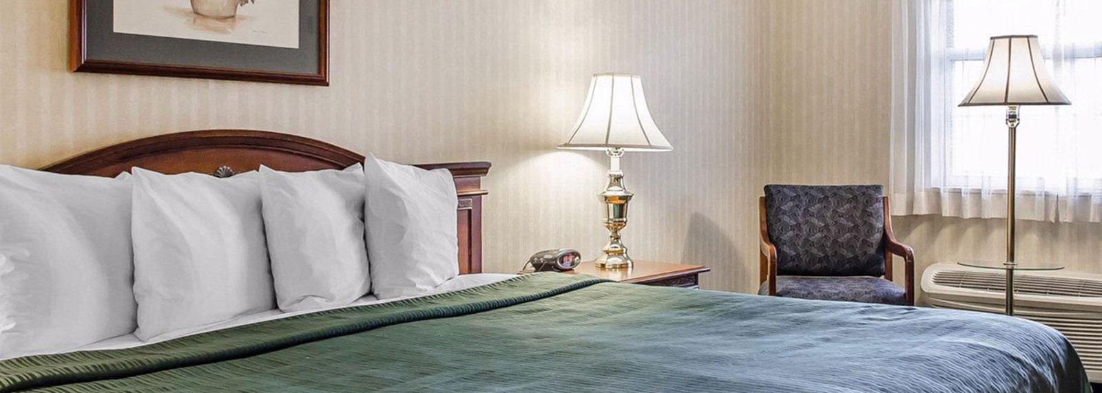 Quality Inn Gettysburg Battlefield Rooms